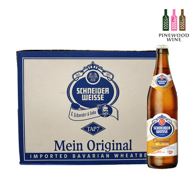Schneider Weisse TAP 7 Unser Original 500ml Bottle x 20/cs - Pinewood Wine