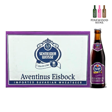 Schneider Weisse Aventinus Eisbock 330ml Bottle x 24/cs - Pinewood Wine