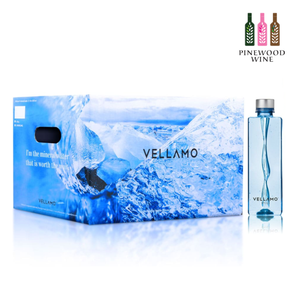 Vellamo Premium Mineral Water, 500ml x 24 (PET Bottle) - Pinewood Wine