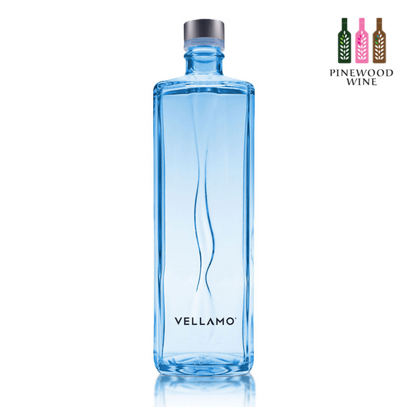 Vellamo Premium Mineral Water, 750ml x 12 (Glass bottle) - Pinewood Wine