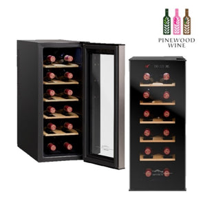Vinvautz - Thermoelectric 12 Bottles - Pinewood Wine