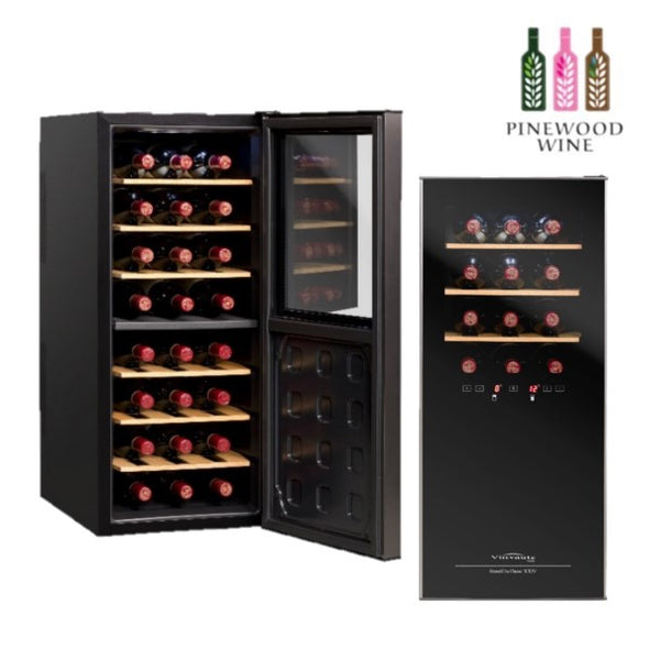 Vinvautz - Thermoelectric Dual Zone 24 Bottles - Pinewood Wine