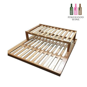 Vinvautz - Display Shelf - Pinewood Wine