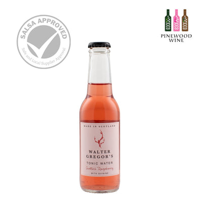 Walter Gregor's - Scottish Raspberry Tonic Water 200ml x 24