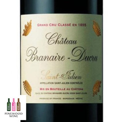 Chateau Branaire Ducru St Julien 2006 (OWC), RP 92 750ml - Pinewood Wine