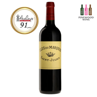 Clos Du Marquis Saint-Julien 2005, RP 91 750ml - Pinewood Wine