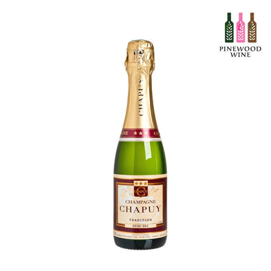 Chapuy Demi Sec Tradition half 375ml - Pinewood Wine