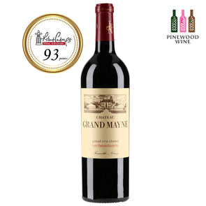 Chateau Grand Mayne, Saint-Emilion Grand Cru Classe 2009 (OWC), RP 93 750ml - Pinewood Wine