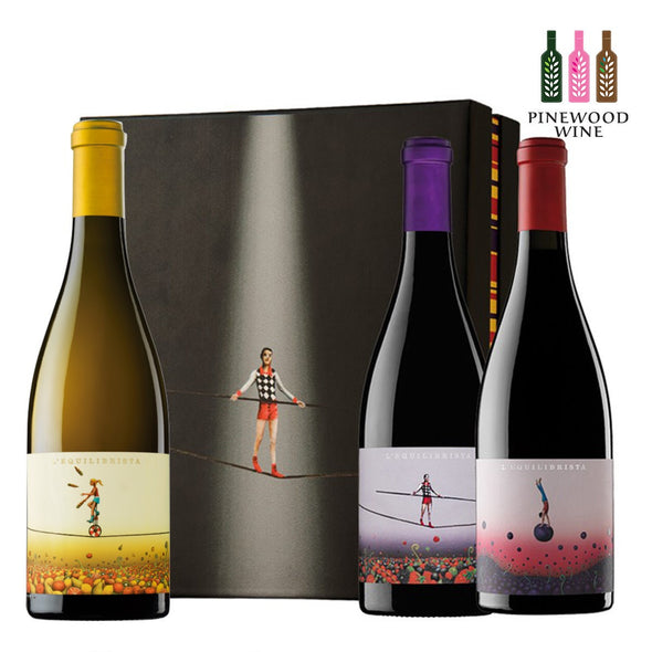 L'Equilibrista [Deluxe Wine Set] 3 X 750ml - Pinewood Wine