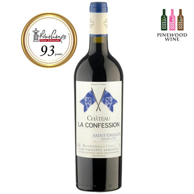 Chateau La Confession, Saint-Emilion Grand Cru 2008 (OWC), RP 93 750ml - Pinewood Wine