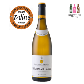 Doudet Naudin - Macon Villages Blanc 2015 750ml - Pinewood Wine