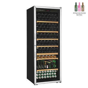 ArteVino Oxygen Glass Door 206 Bottles - Pinewood Wine