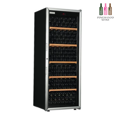 ArteVino Oxygen Glass Door 225 Bottles - Pinewood Wine