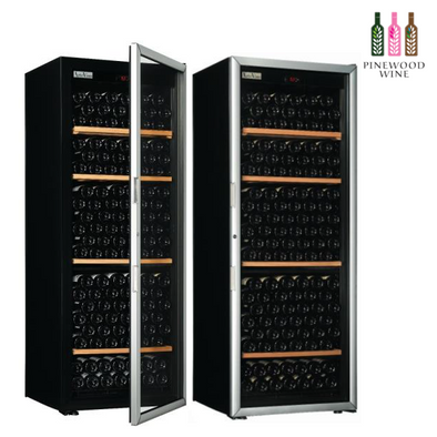 ArteVino Oxygen Glass Door 230 Bottles - Pinewood Wine