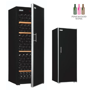 ArteVino Oxygen Solid Door 230 Bottles - Pinewood Wine