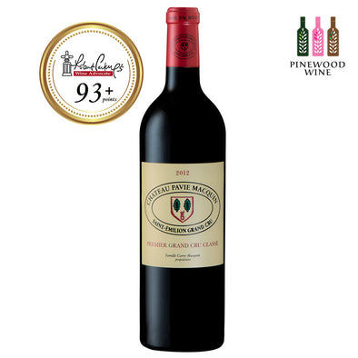 Chateau Pavie Macquin, St Emilion 1er Grand Cru Classe 2012, RP 93+ 750ml - Pinewood Wine