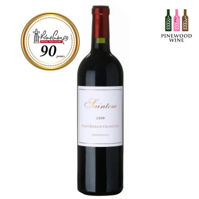 Saintem, St Emilion Grand Cru 2010 750ml - Pinewood Wine