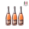 *Live Special* Champagne Chapuy Brut Rose Tradition, 750ml (3 Bottles)