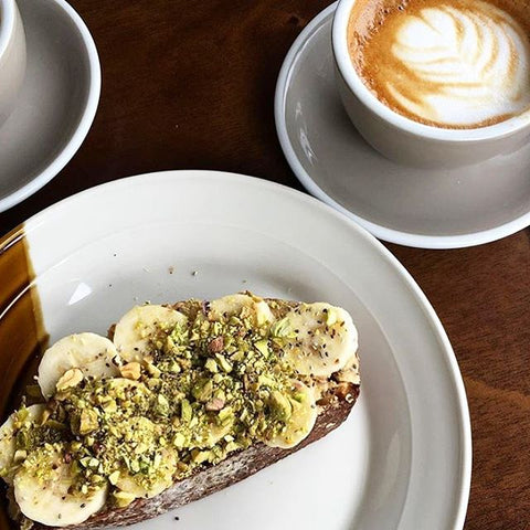 Birdy's nut butter toast