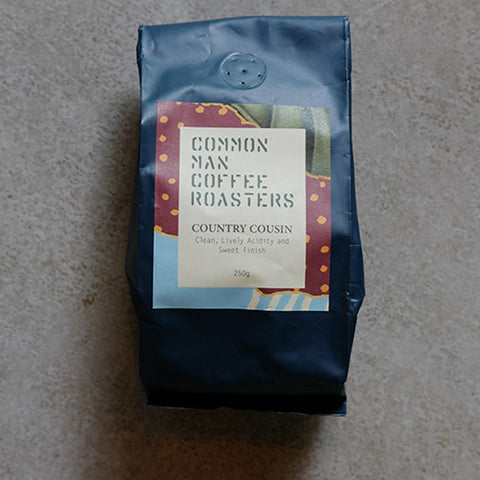 COUNTRY COUSIN COMMON MAN COFFEE ROASTERS SIGNATURE BLEND