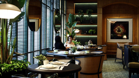 the tea lounge regent hotel singapore