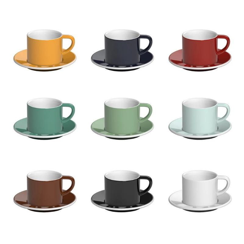 Bond 150ml Cappuccino Cup & Saucer Set