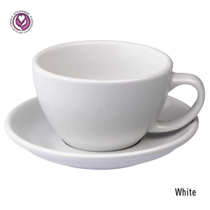 Egg 300ml Cappuccino Cup & Saucer