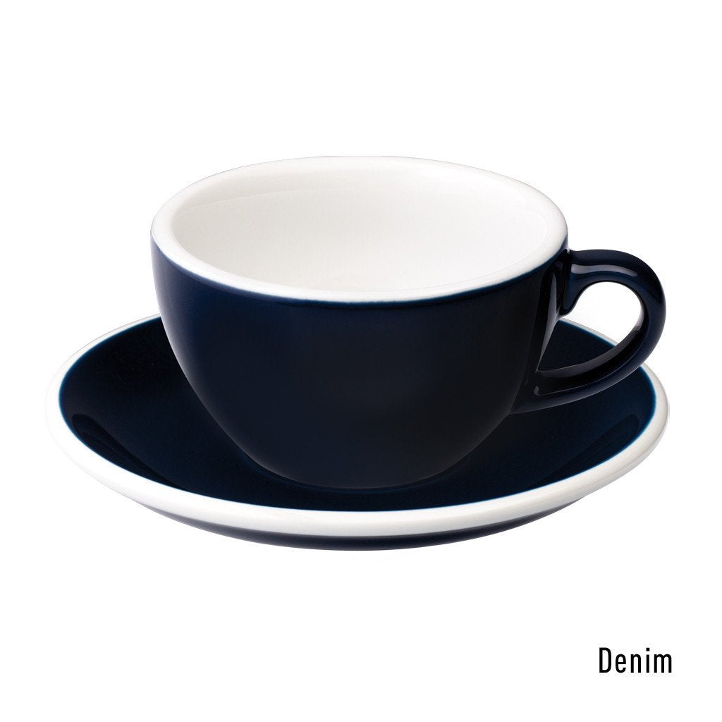 Egg 200ml Cappuccino Cup & Saucer Set