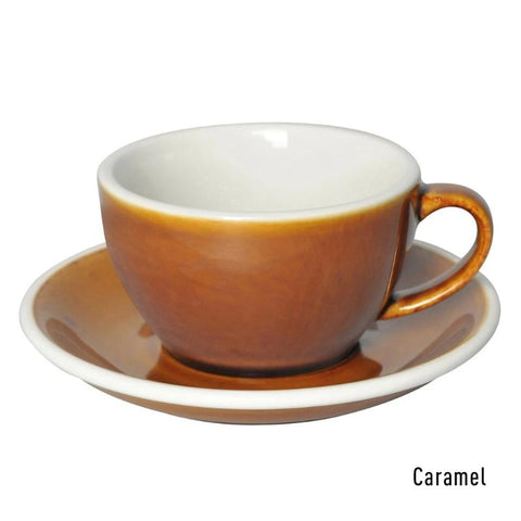 3 Potters 250ml Cappuccino Cup & Saucer Set