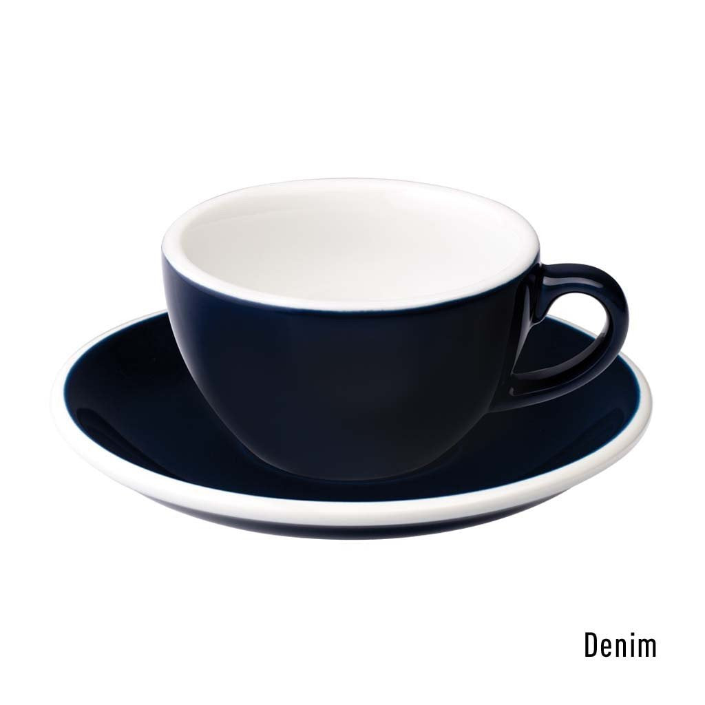 Egg 150ml Flat White Cup & Saucer Set