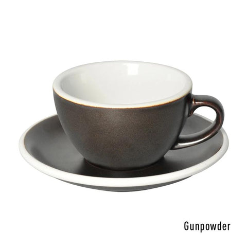3 Potters 200ml Cappuccino Cup & Saucer Set