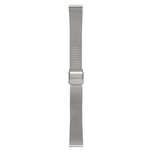 Steel mesh band, 16 mm with Norlite logo on clasp