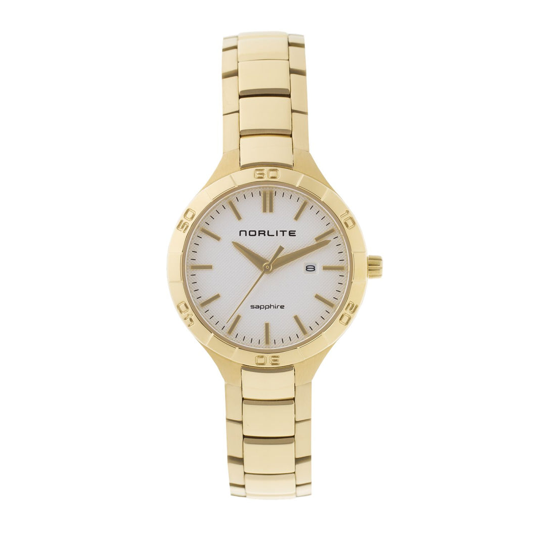 Stylish and beautifully designed gold plated watch