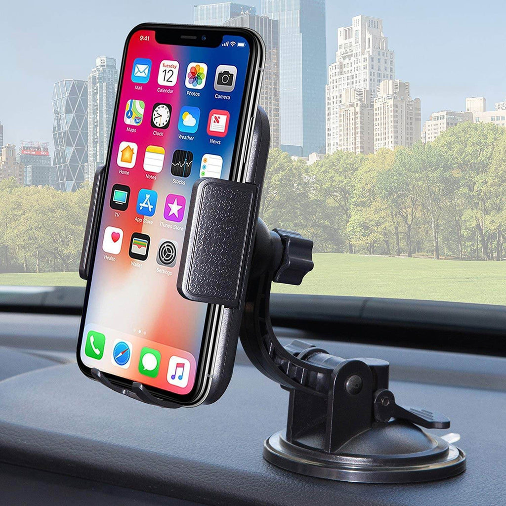 best loved c1ff3 920f0 Cell phone car mount | Universal Dashboard & windshield Car Phone ...