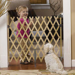 "Keepsafe 36"" Wood Expanding Pet Gate"