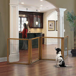 4 Panel Accordion Pet Gate