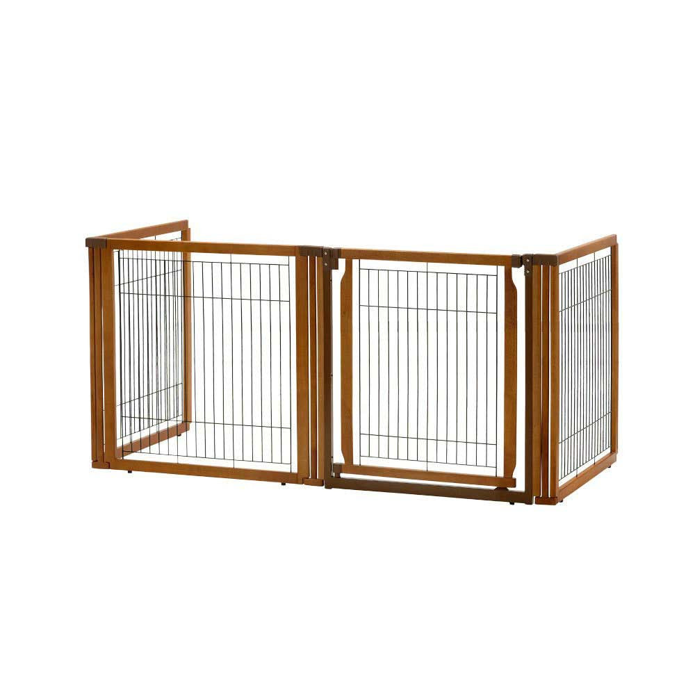 4 panel freestanding dog gate