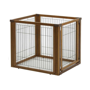 4 panel dog crate and gate