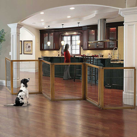 Accordion Pet Gates Extra Wide Expanding Pet Gates