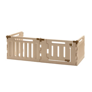 4 panel configurable dog gate indoor and outdoor