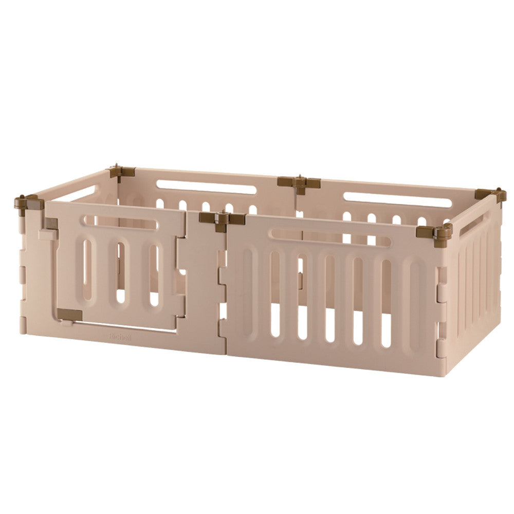 6 Panel Convertible Indoor/Outdoor Pet Playpen