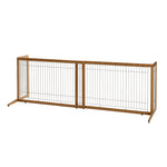 Freestanding Pet Gate (Bamboo)