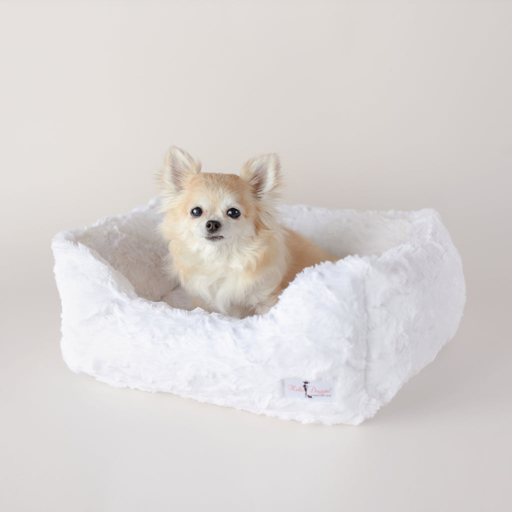 luxury soft dog bed for small breeds