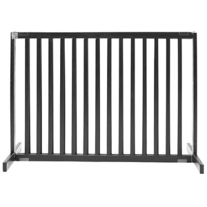 "30"" tall black dog gate"
