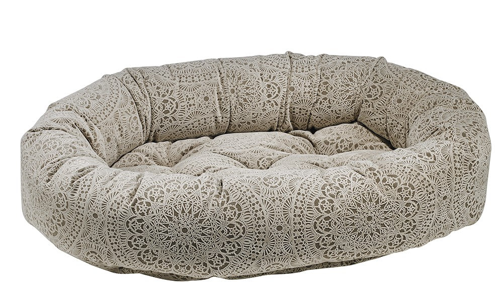 Designer Donut Dog Bed - Print