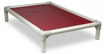 chew proof dog bed elevated dog bed