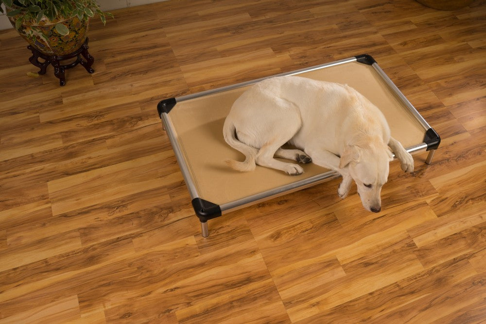 chew proof dog bed metal frame
