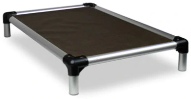 Anodized Aluminum Chew Proof Elevated Dog Bed up to 250 lbs.