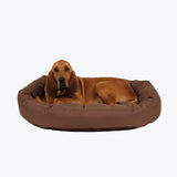 non chew donut dog bed
