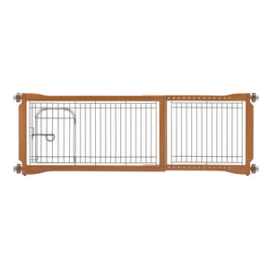 Pet Sitter Freestanding & Pressure Mounted Pet Gate Plus